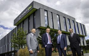 Men from Hitachi moving in to Techspace One